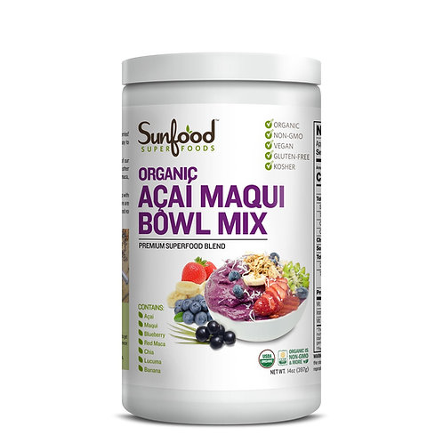 Acai Maqui Bowl Mix, 14oz, Organic