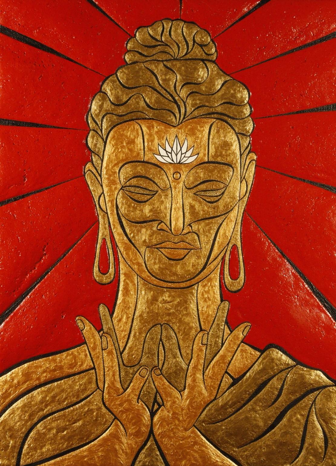 Buddha Lotus Mudra