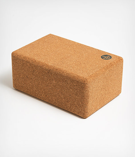 cork yoga block