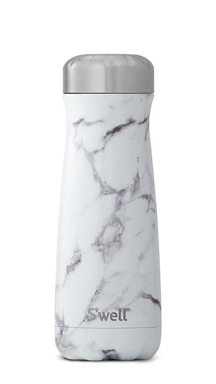 White Marble Traveler - 20oz