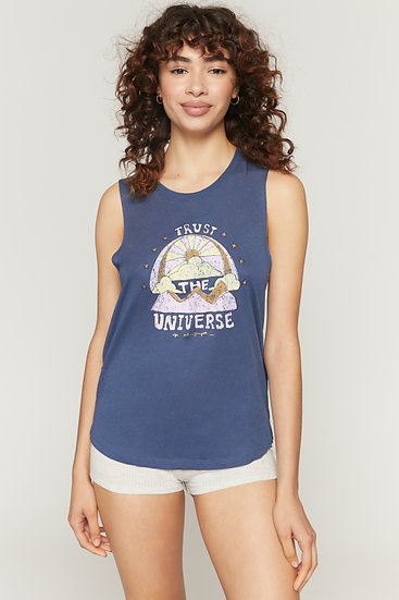 Trust The Universe Muscle Tank