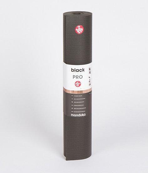 manduka pro® yoga mat - black (long)