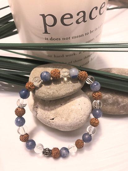 Strength and Healing Mala Bracelet