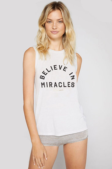 Believe in Miracles Muscle Tank