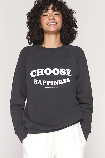 Happiness Old School Sweatshirt
