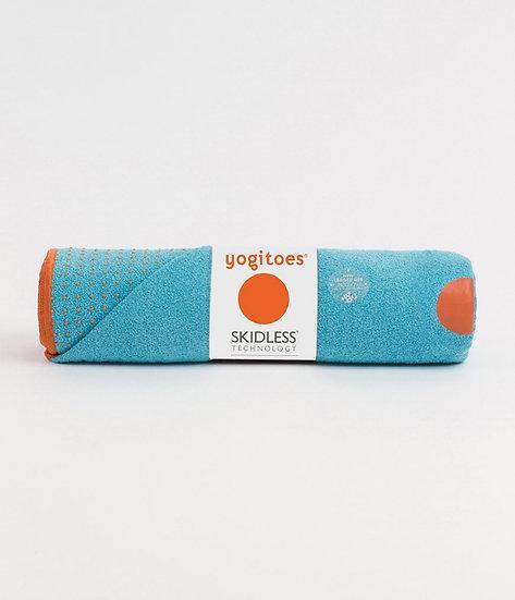 yogitoes® yoga towel - chakra turquoise