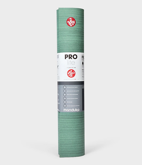 prolite® yoga mat - green ash colorfields