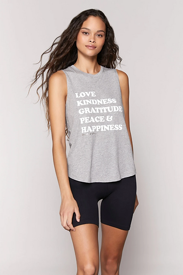 Love and Happiness Muscle Tank