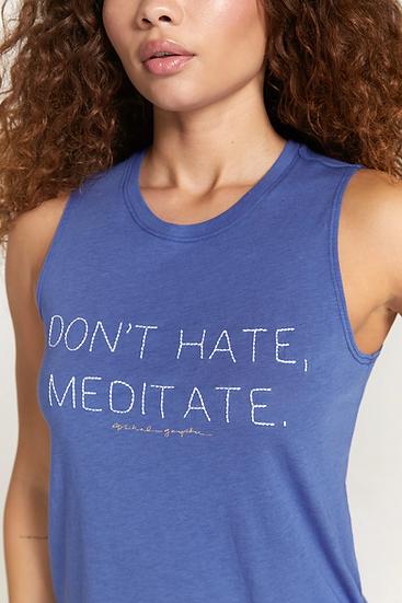 Meditate Muscle Tank