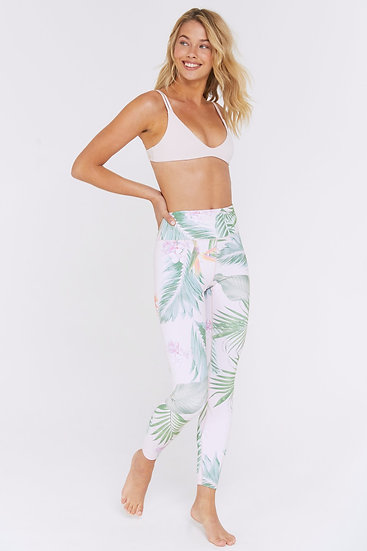 Palm Paradise High Waist 7/8 Legging
