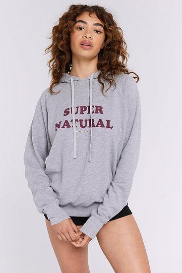Super Natural Classic Raglan Hoodie