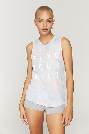 Find Your Wild Muscle Tank