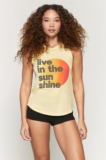 Sunshine Muscle Tank
