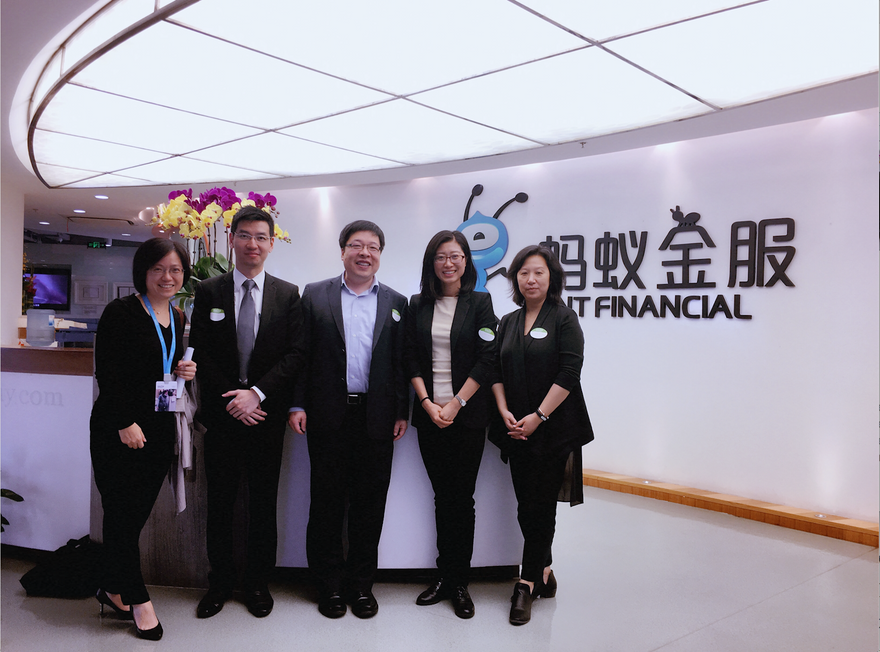 Ant Financial --A True ONE with Eco-system & social entrepreneurial based Community (a lovely sp
