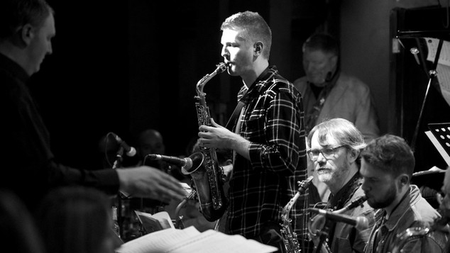 With Neon Orchestra @ 606 Club