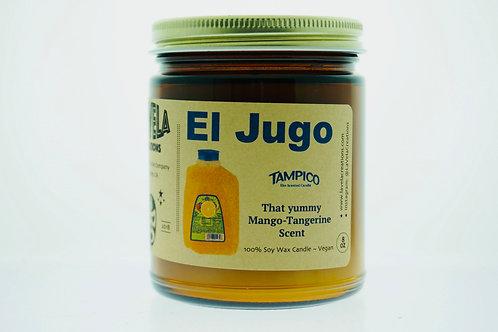 El Jugo ~ Citrus & Mango Scented Soy Candle ~ Compare to Tampico Juice Scent 8oz
