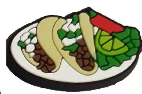 Tacos Shoe Charm
