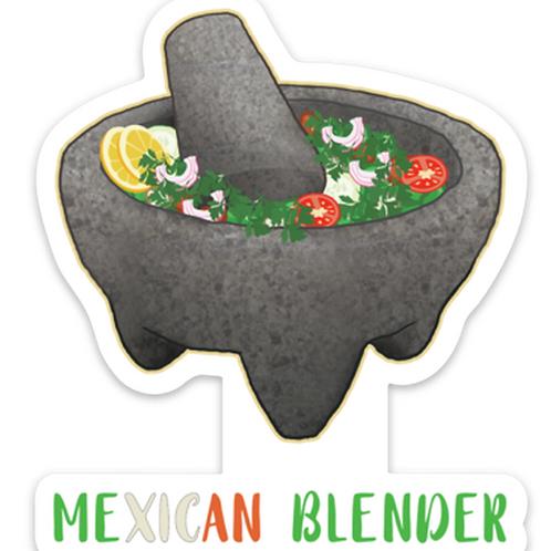 Mexican Blender  - Premium Vinyl Stickers