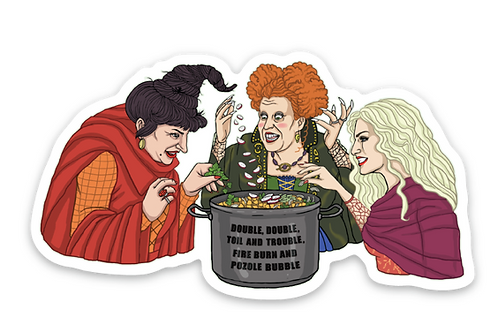 Pozole Sisters - Premium Vinyl Stickers