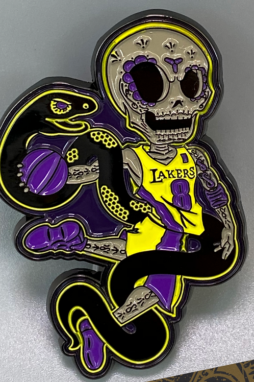 Kobe Lakers - Metal Enamel Pin