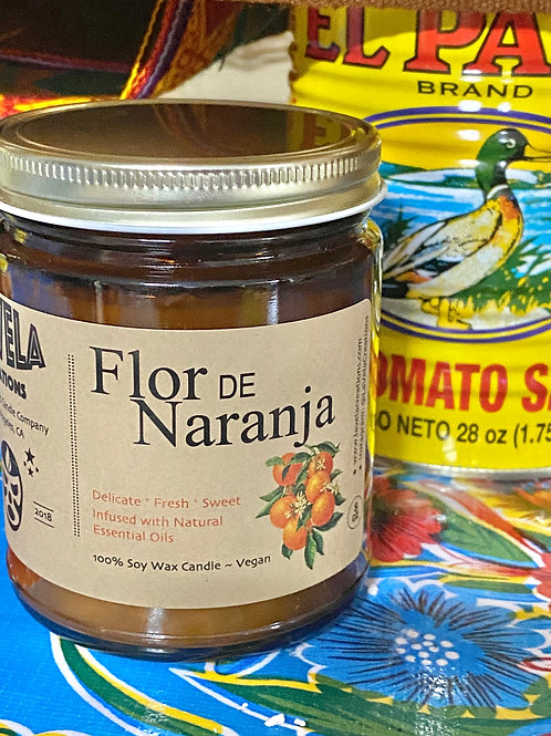 Flor de Naranja ~ Refreshing Orange Blossom Soy Candle