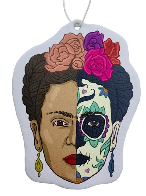 Frida Calaca Air Freshner ~ Rose Scent