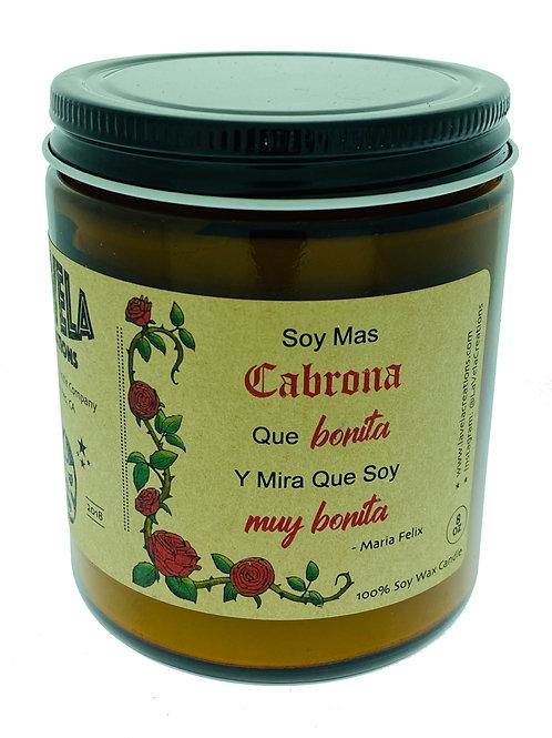 Mas Cabrona Que Bonita ~ Sweet, Floral Fusion of Jasmine, Gardenia, Guava