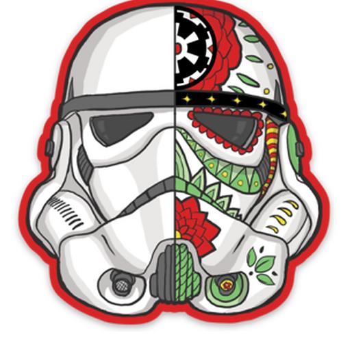 Sugar Skull Empire - Premium Vinyl Stickers