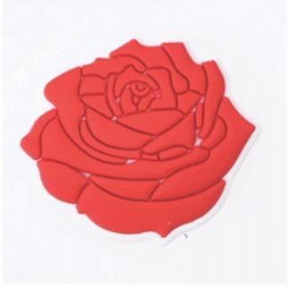 Rose Shoe Charm