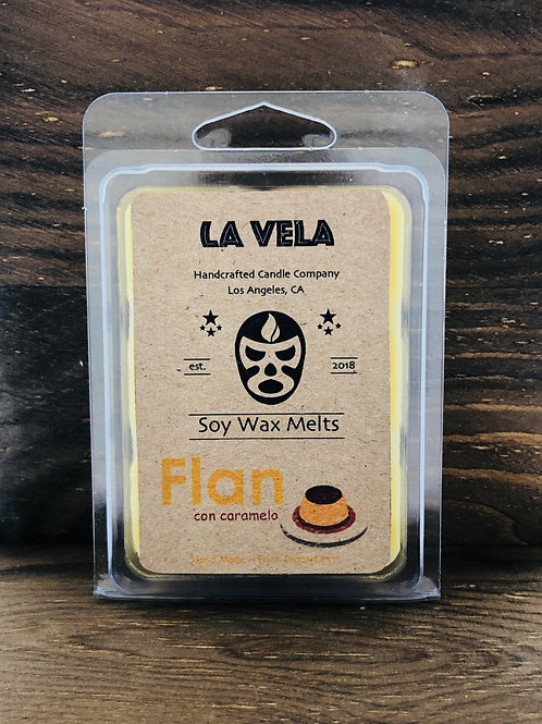 Flan Soy Wax Melts ~ Sweet Caramelized Scent Blend ~ Handcrafted Soy Melts