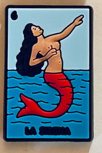 La Sirena Shoe Charm