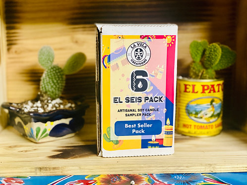 El Seis Pack ~Best Sellers Tealight Candle Scent Sampler