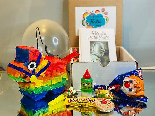 Donkey Mini Fiesta Piñata Party in a Box - Birthday Cajita