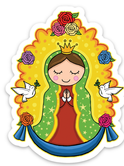 Virgencita - Premium Vinyl Stickers