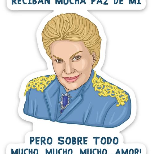 Mucho Amor- Premium Vinyl Stickers