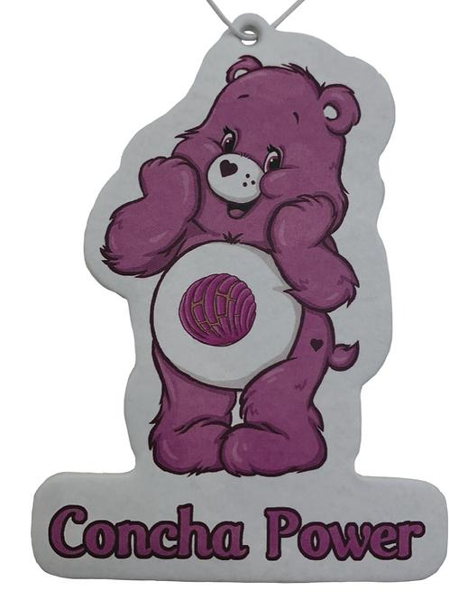 Concha Power Bear Air Freshner ~ Raspberry Scent