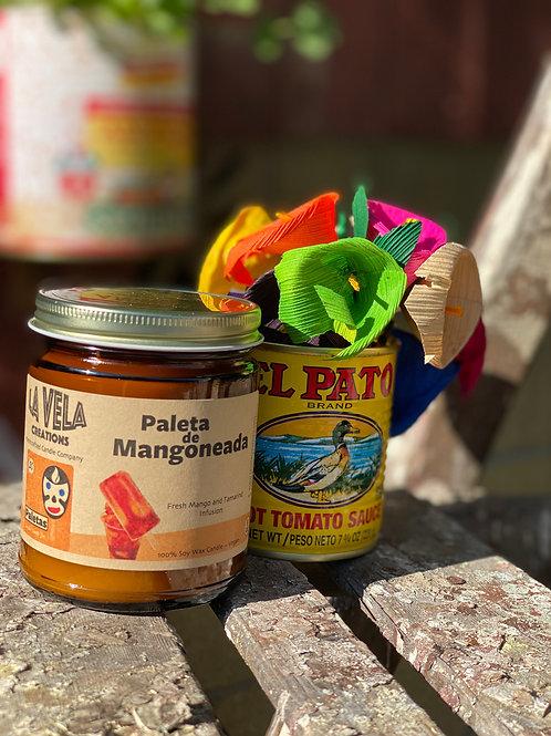 Paleta de Mangoneada ~ Refreshing Mango and Tamarindo Scented Candle