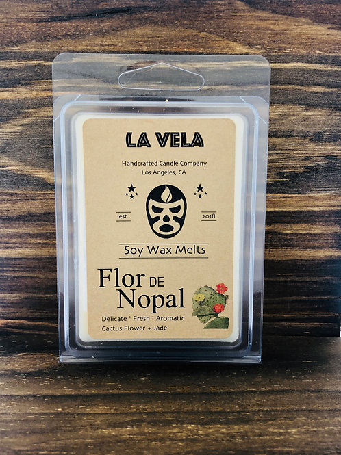 Flor de Nopal Scented Soy Wax Melts ~ Hand Crafted