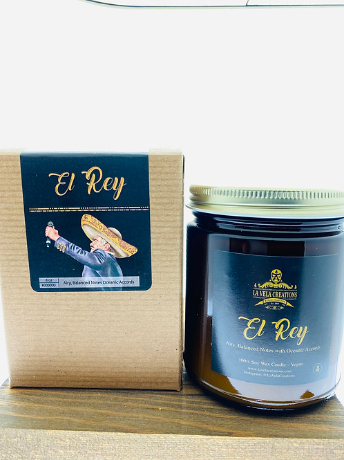 El Rey ~Sweet, Yet Salty Oceanic Accords with Amber and Vanilla ~ 8oz