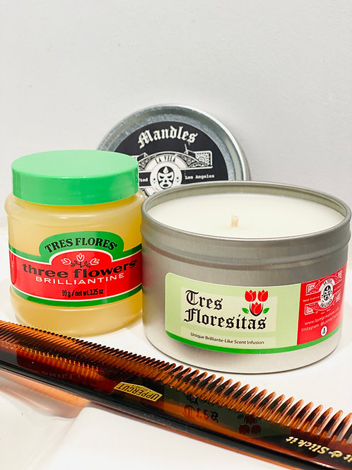 Tres Floresitas ~ Similar scent to famous pomade ~ Floral Infusion
