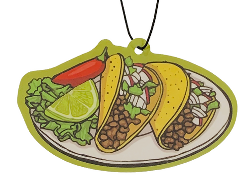 Tacos Air Freshner ~ Candy Scent