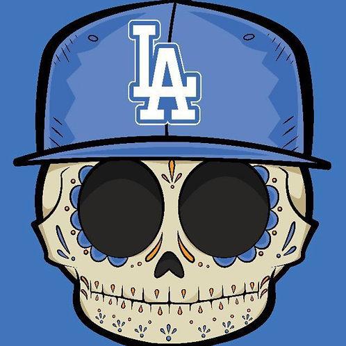 Dodgers Selfie - Premium Vinyl Stickers