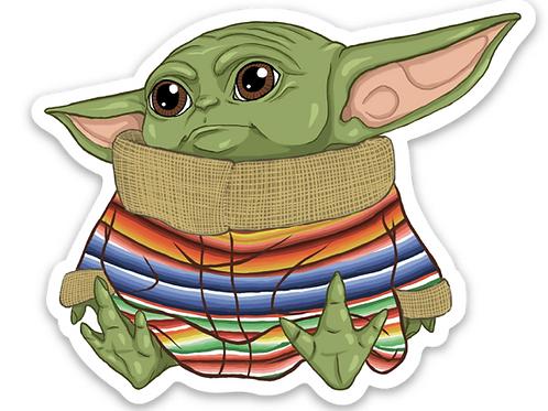 Baby Yoda - Premium Vinyl Stickers