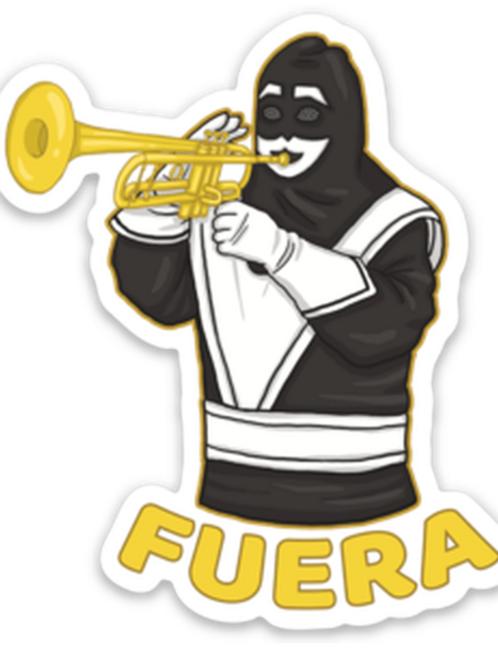 Fuera- Premium Vinyl Stickers
