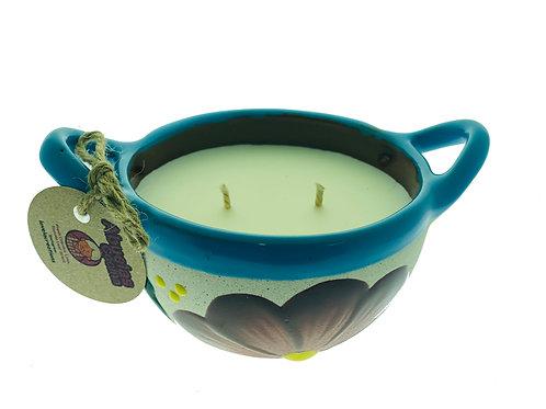 Abuela's Cocina Candle ~ Savory Cilantro, Lime, Tomato Leaf Infusion