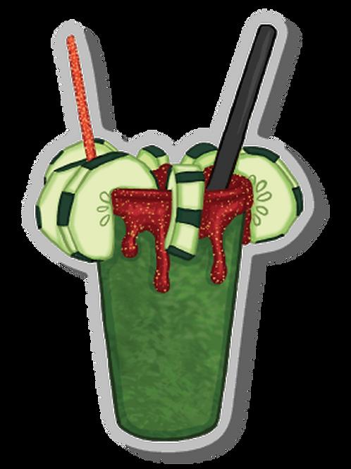 Pepino con Limon - Acrylic Pin