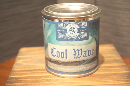 Cool Wave ~Compare Scent to Cool Water Colgne ~ 100% Soy Candle