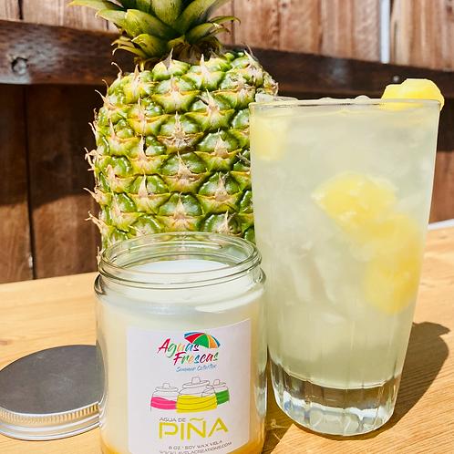 Agua de Piña ~ Fresh, Tart Pineapple Scented Soy Candle