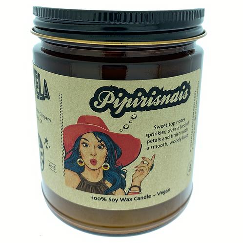 Pipirinais ~ Serene Blend of Cashmere and Cedar ~ 100% Soy Candle ~ 8