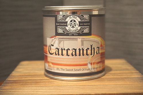 Carchancha (Old Car) ~ Used Motor Oil and Old Fuel Scented ~ 100% Soy Candle